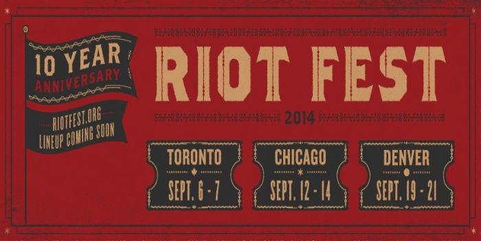 riot fest 10 year anniversary
