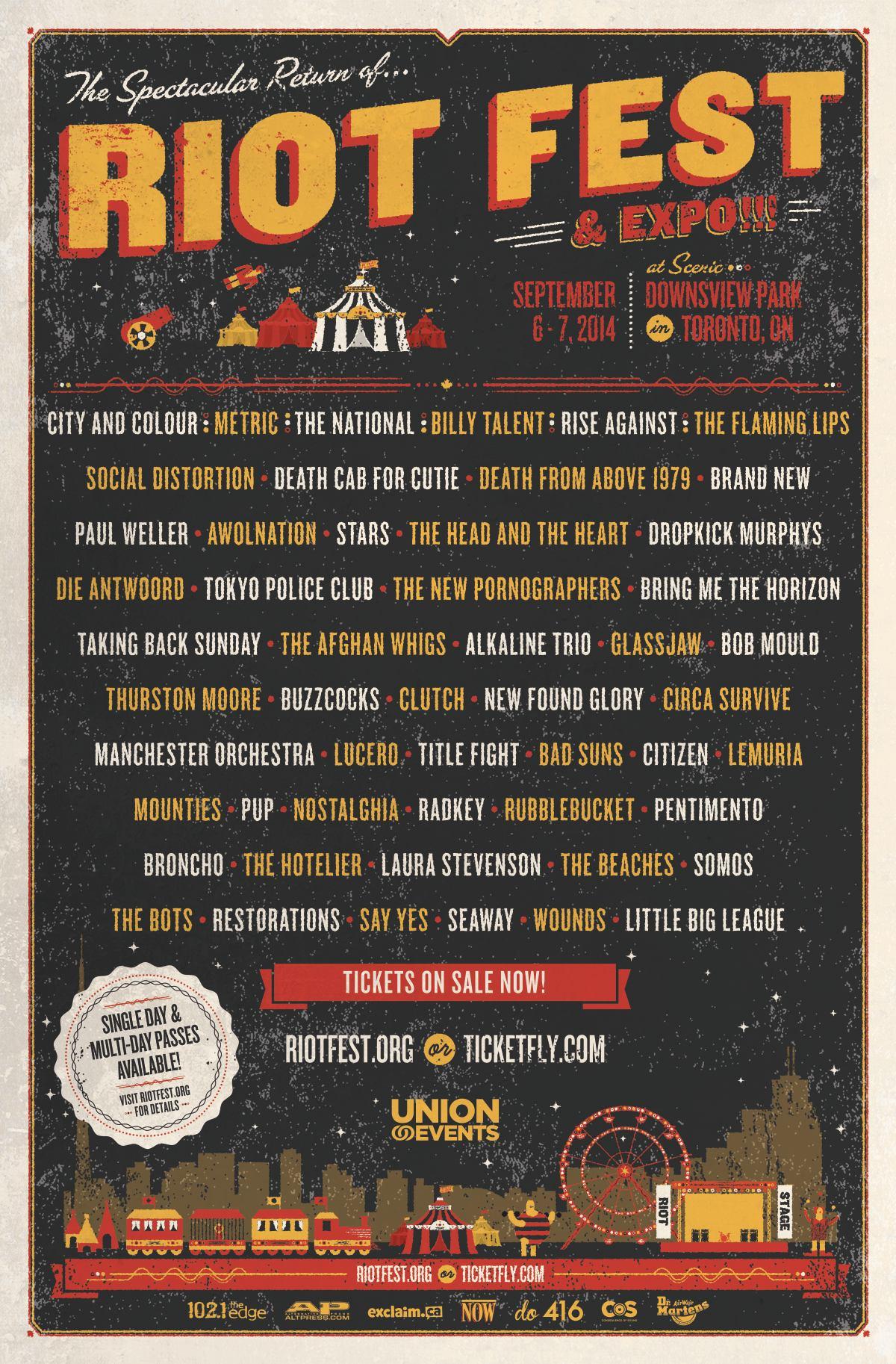 PAST LINEUPS | Riot Fest