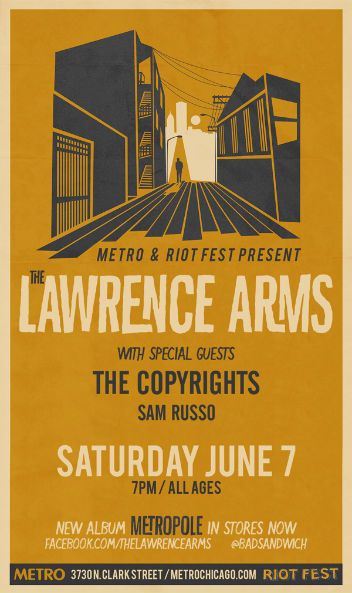 the lawrence arms metro