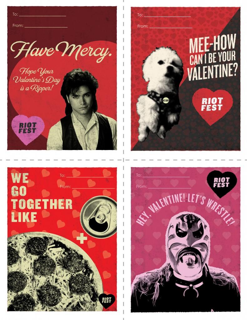 happy valentine's day  riot fest
