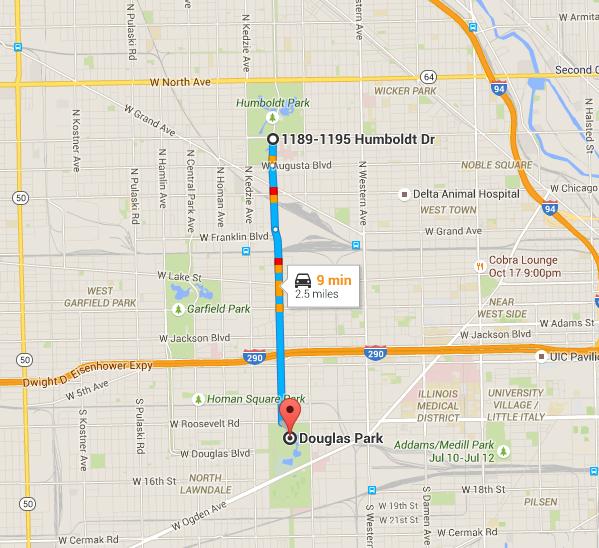 Garfield Park Chicago Map.Riot Fest Carnival Stays In Chicago Held In Douglas Park Riot Fest