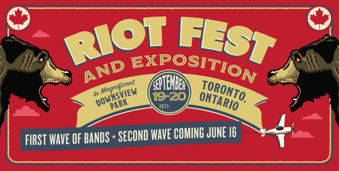 TORONTO – Riot Fest 2015 Lineup and Tickets Now Available