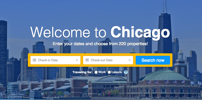 CHICAGO HOTEL BOOKING 2016