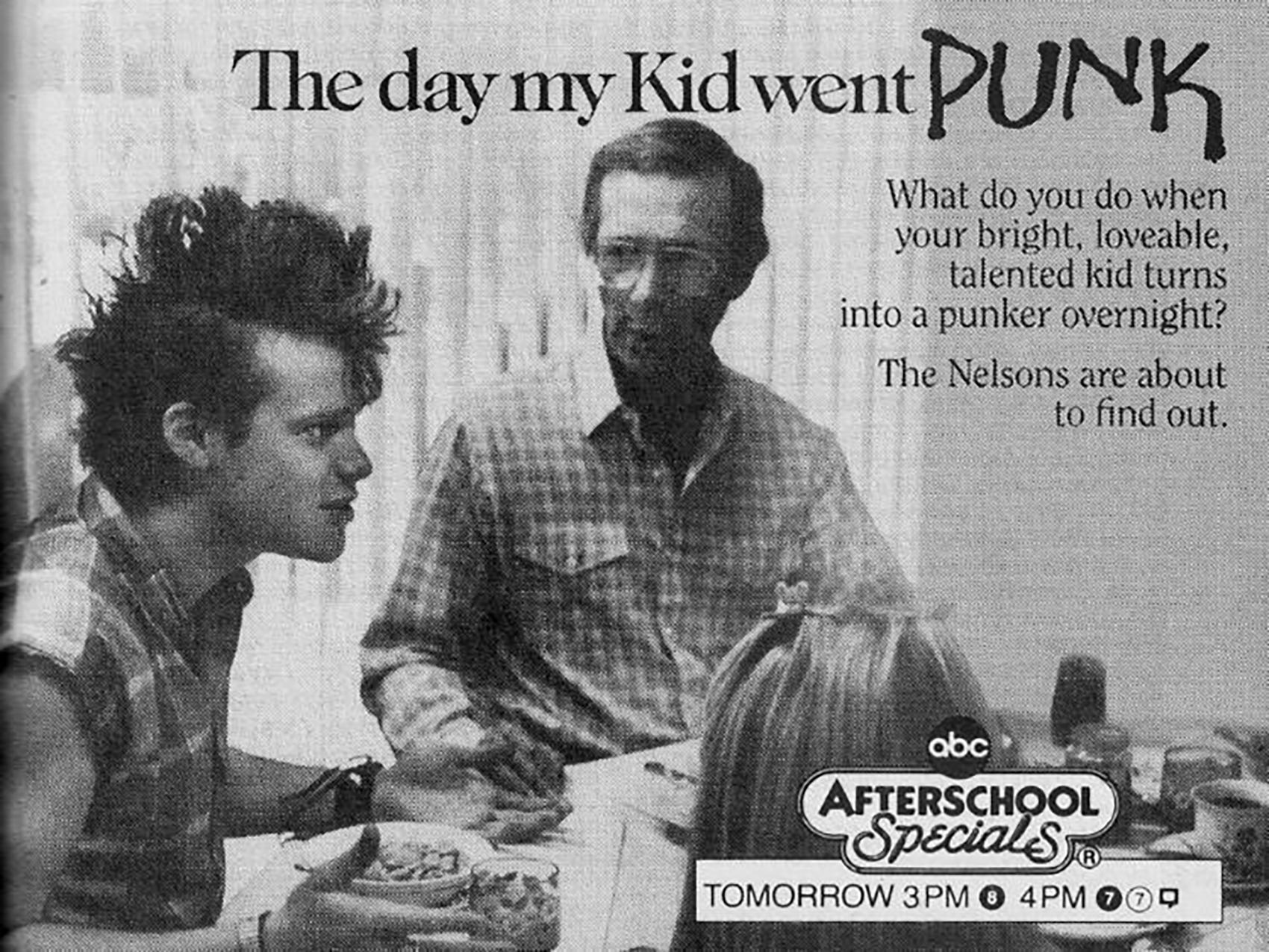 day my kid went punk
