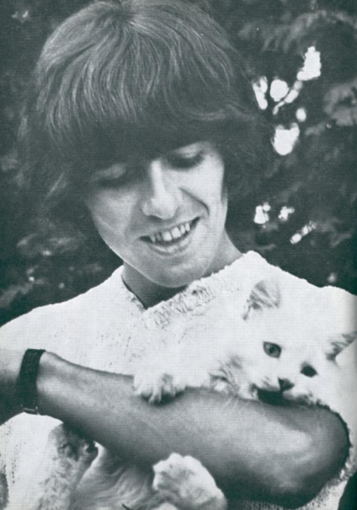 George Harrison Cat