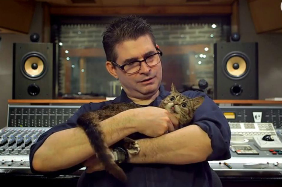 Steve Albini Cat