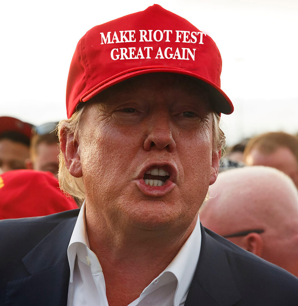 make riot fest great again trump 2 small