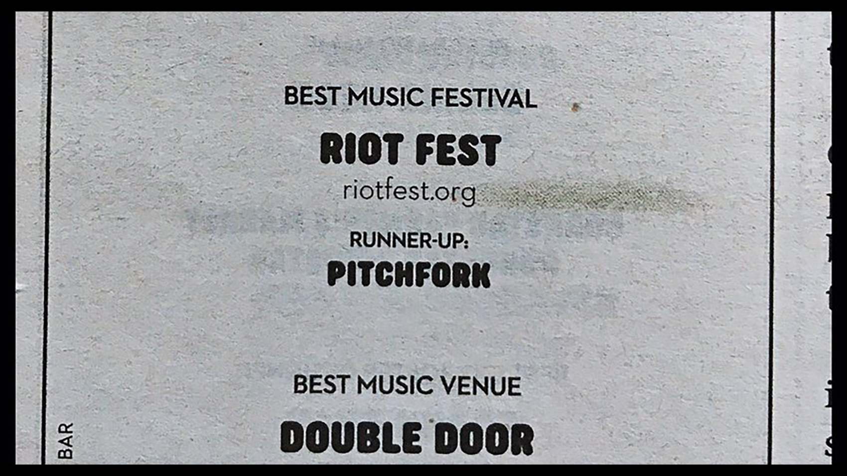 riot fest best of chi