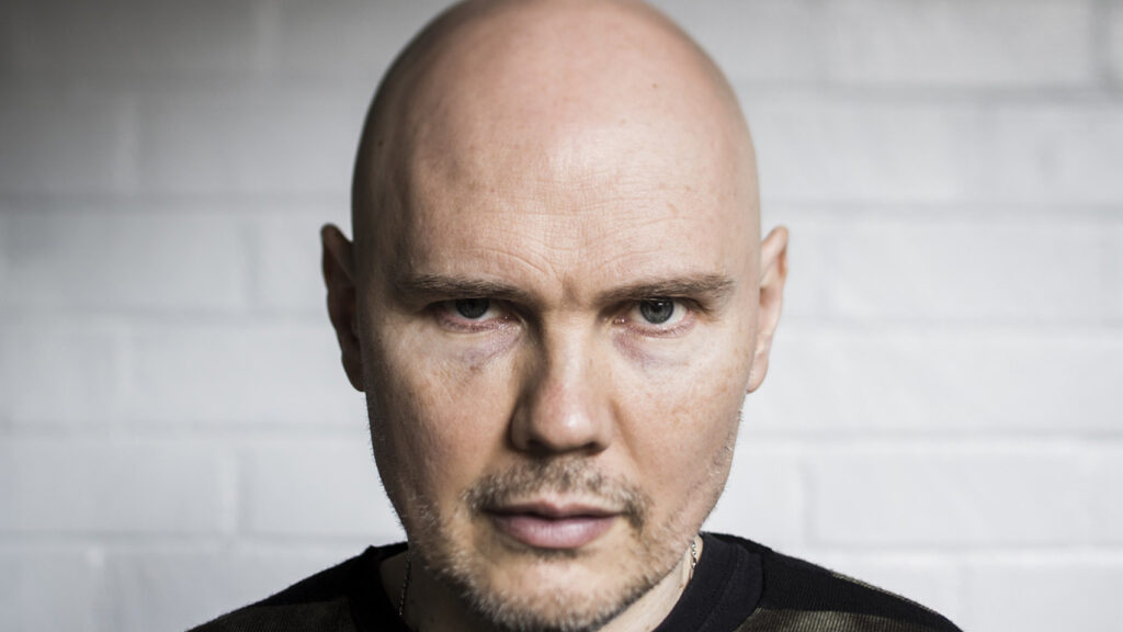 "HOLLYWOOD, CA --DECEMBER 10, 2014--Smashing Pumpkins frontman Billy Corgan is photographed during promotion of the band's new album, ""Monuments to an Elegy,"" at the Hollywood Roosevelt Hotel, Dec. 10, 2014. (Jay L. Clendenin / Los Angeles Times)"