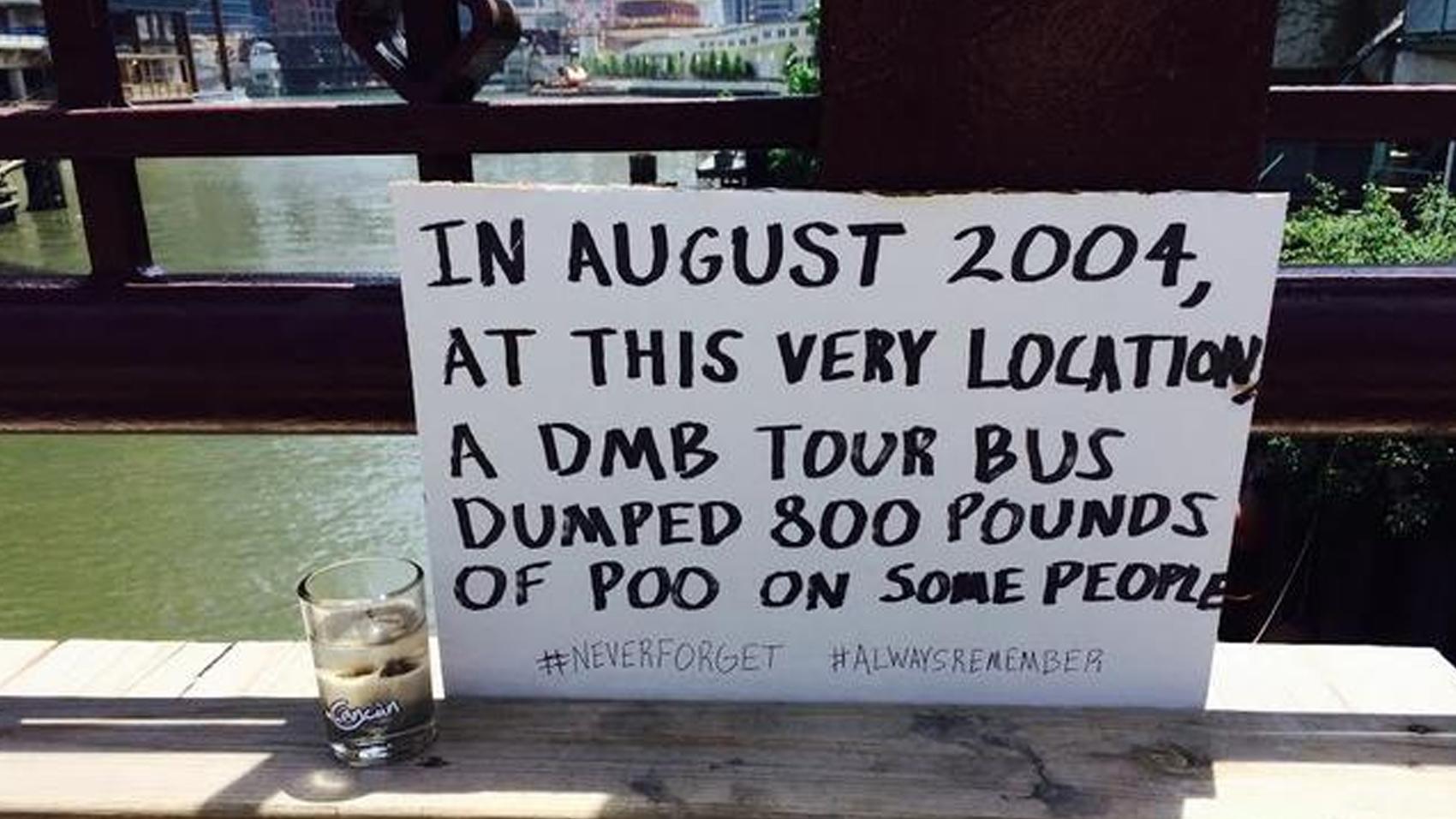 Chicago Tour Bus Poop