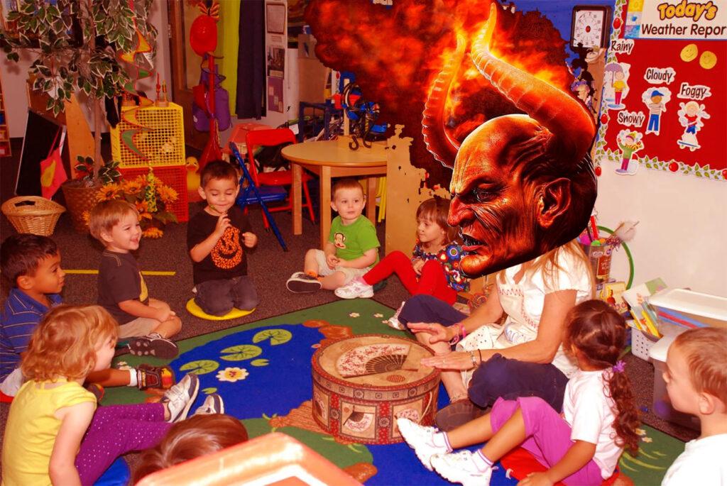 satan school