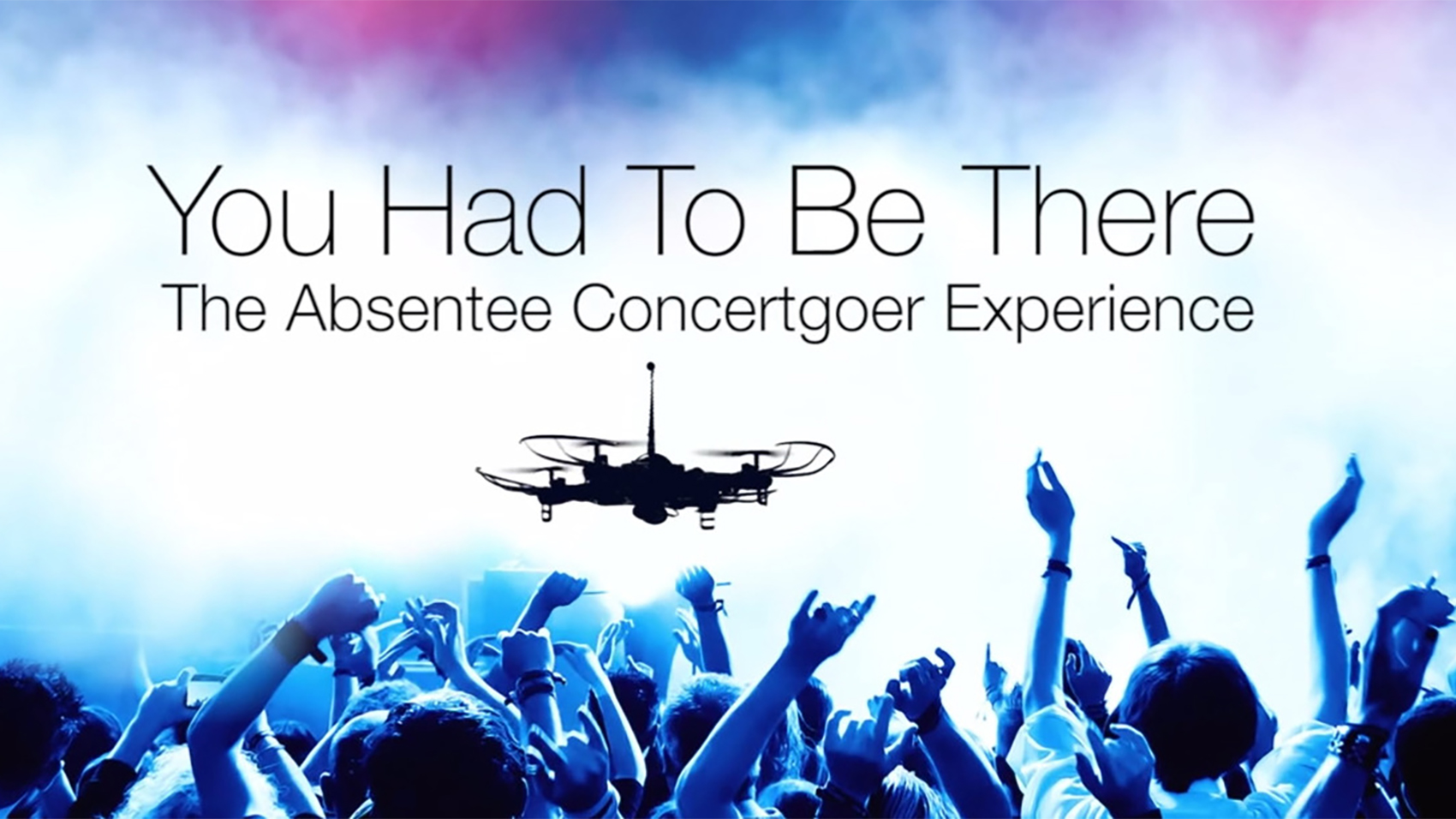 You Had To Be There: The Absentee Concertgoer Experience Is Real