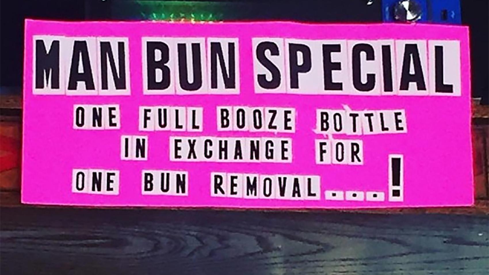 man-bun