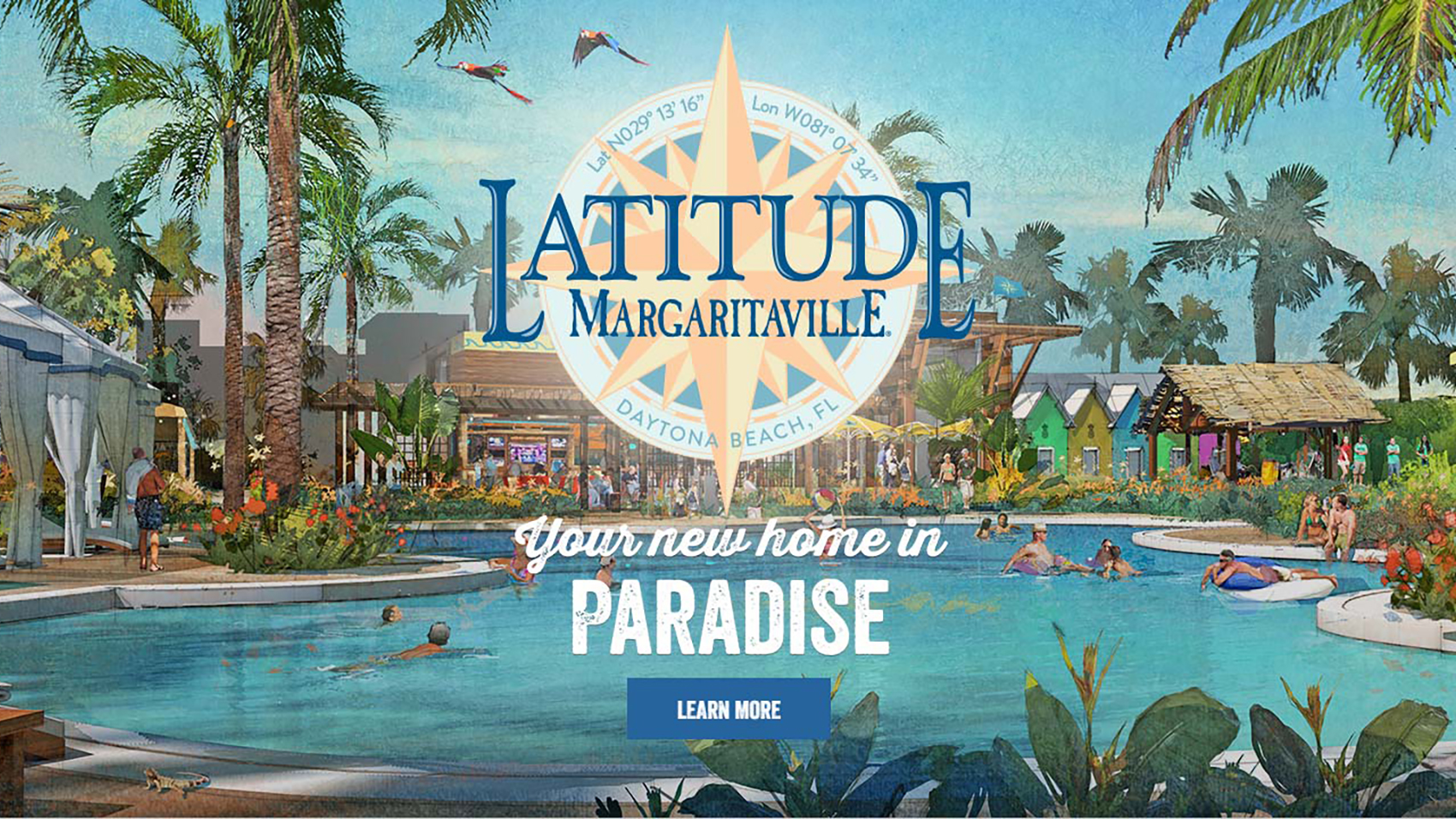 Two Bedroom Homes Hell Is A Jimmy Buffet Margaritaville Themed Retirement