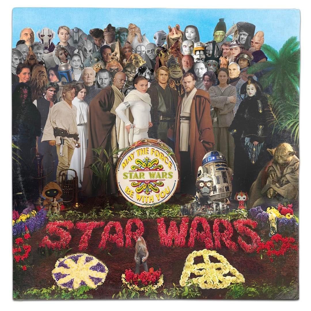 classic album covers   star wars