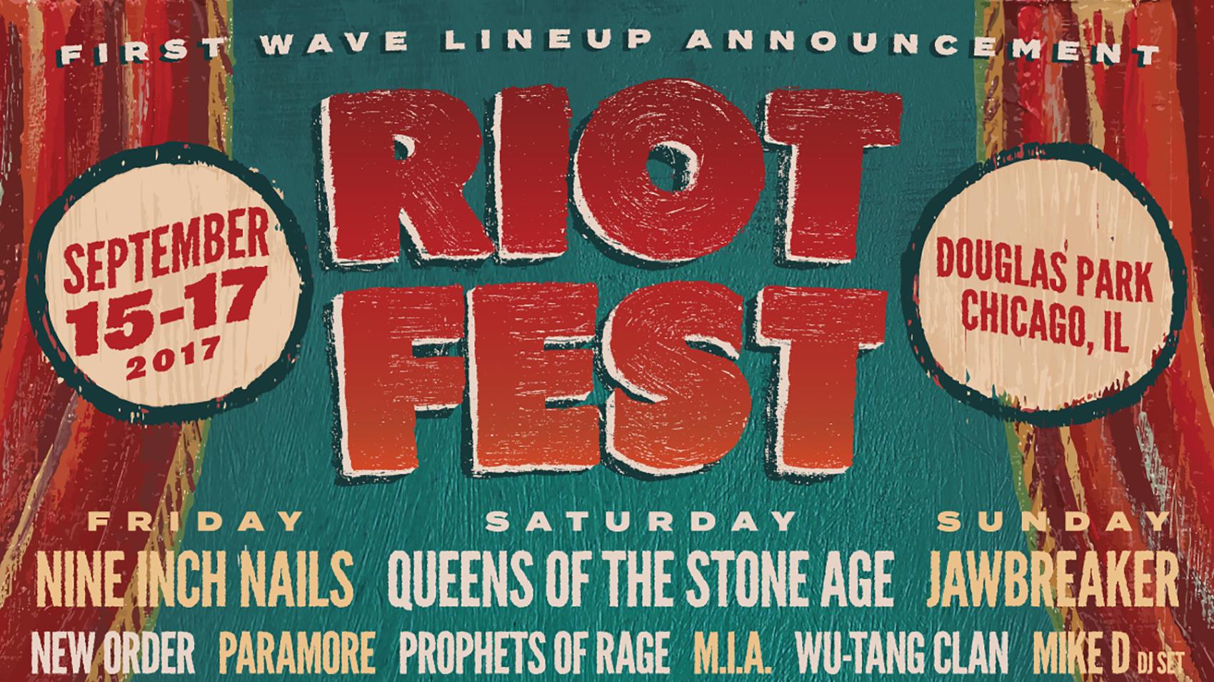 Nine Inch Nails Riot Fest