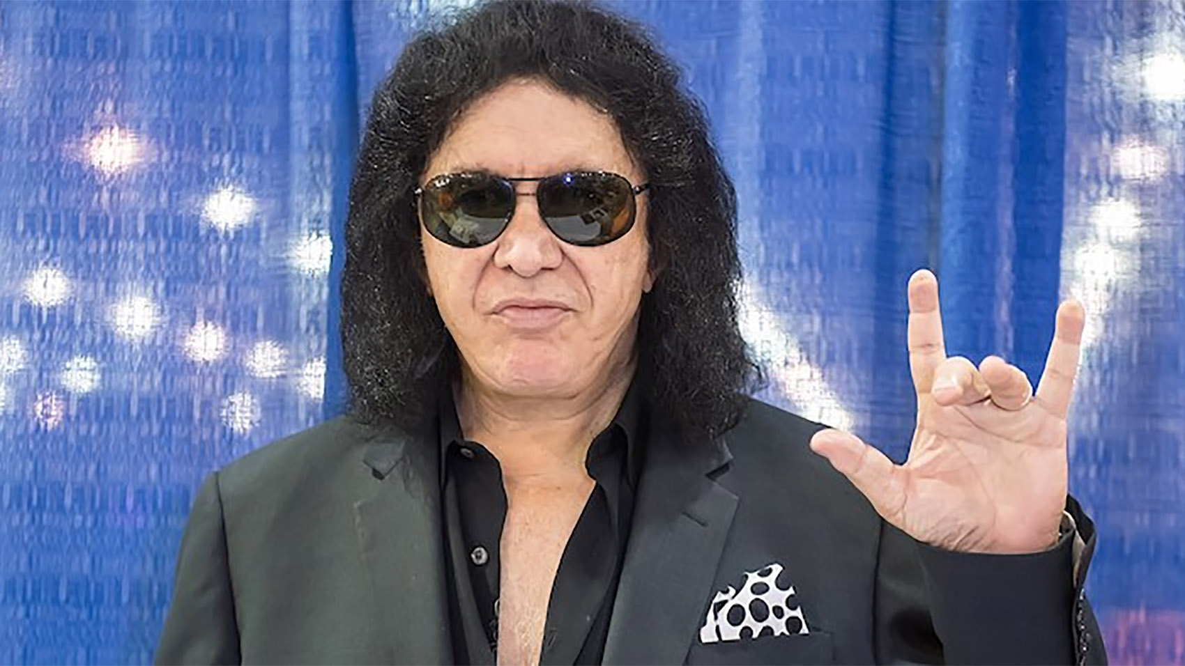 Gene Simmons Is Trying To Trademark A Hand Gesture | Riot Fest