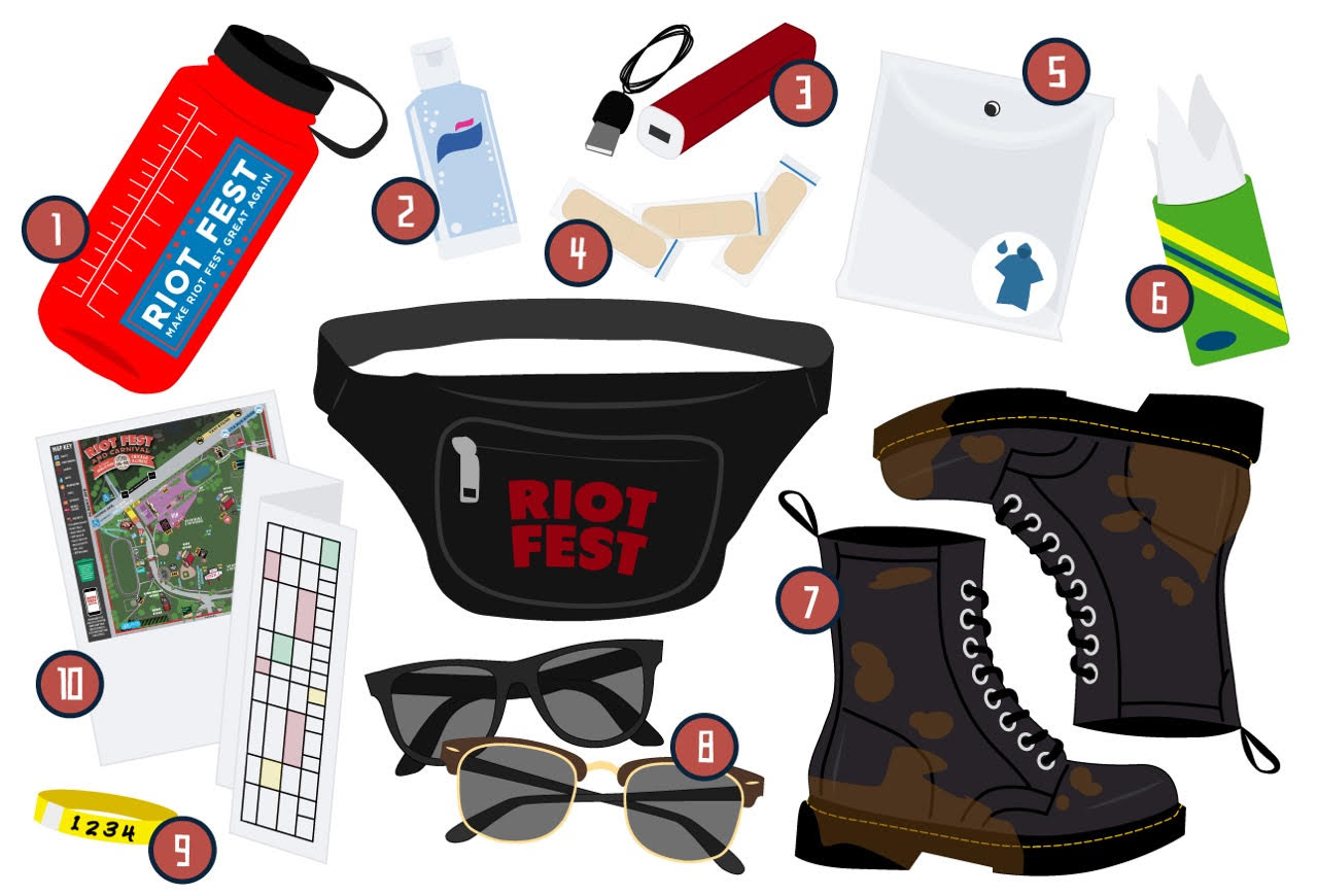 dd6bb05c05e Riot Fest Essentials  We Learned The Hard Way So You Don t Have To ...
