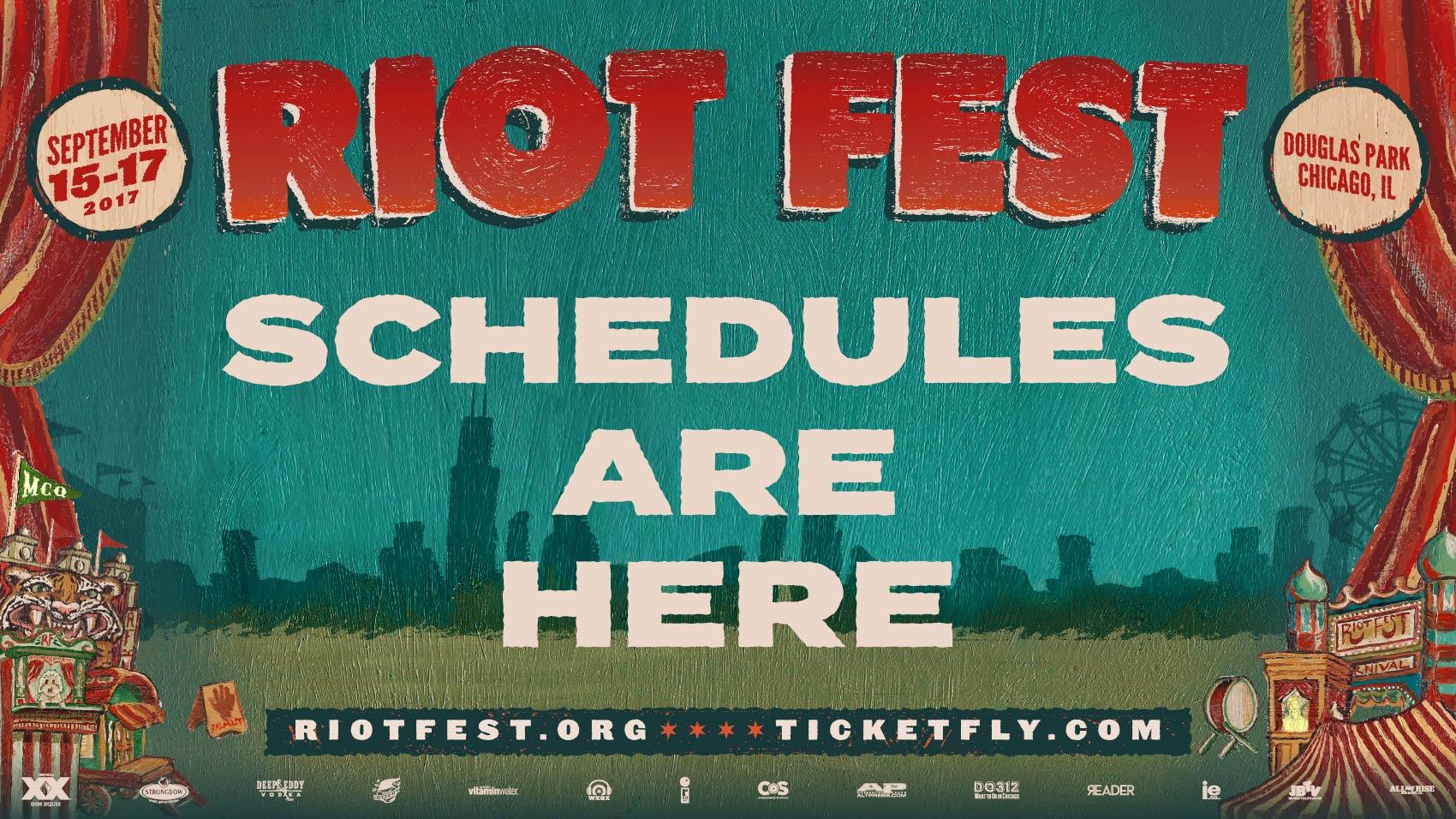 Riot Fest - Chicago Music Festival: Punk Rock (& more) Music Fest ...