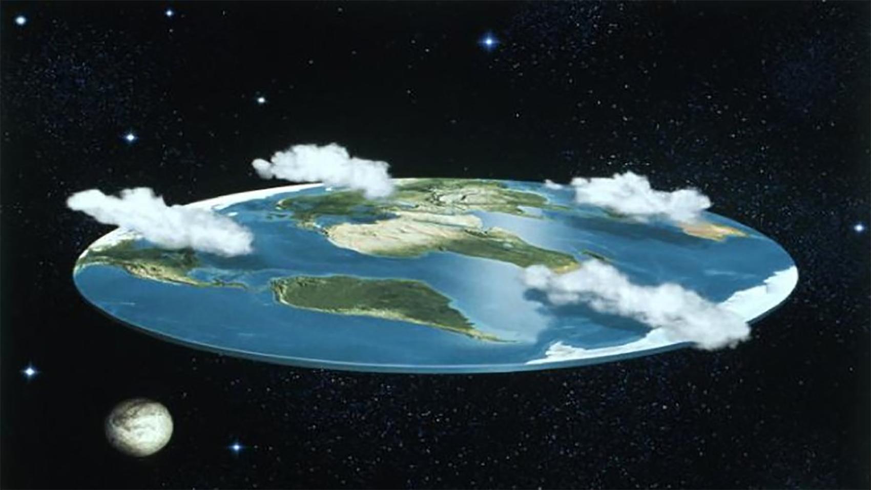 Výsledek obrázku pro flat earth
