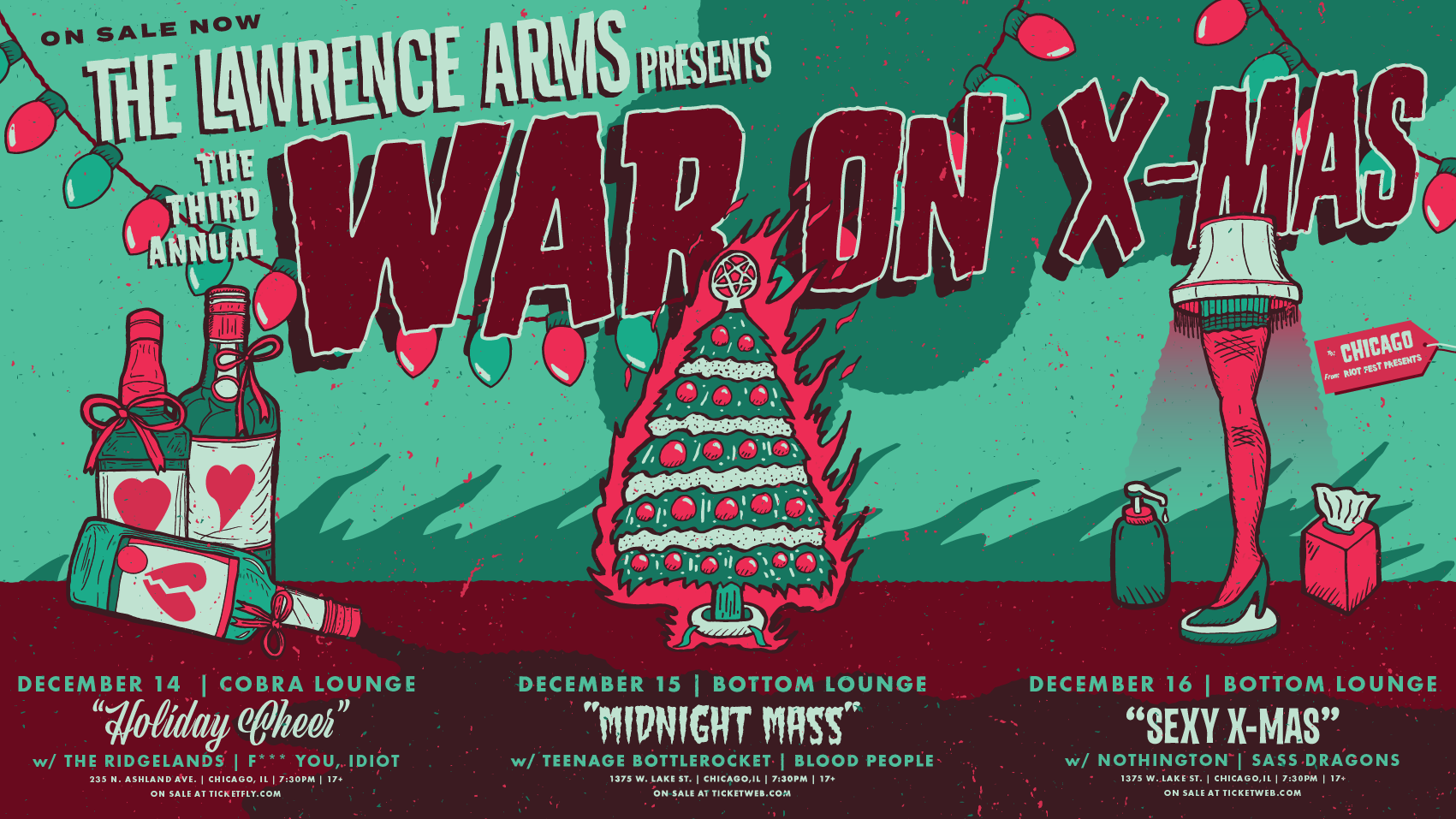 Manger Danger! It\'s The Lawrence Arms\' Third Annual War On X-mas ...