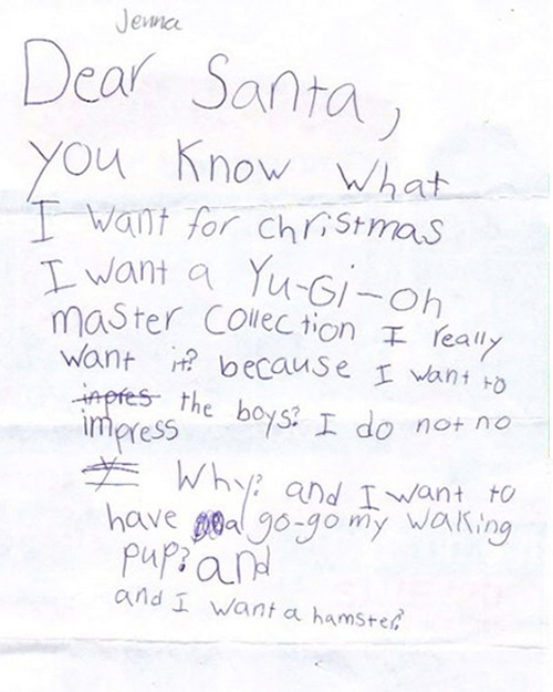 8 naughty letters to santa riot fest dear jenna spiritdancerdesigns Image collections