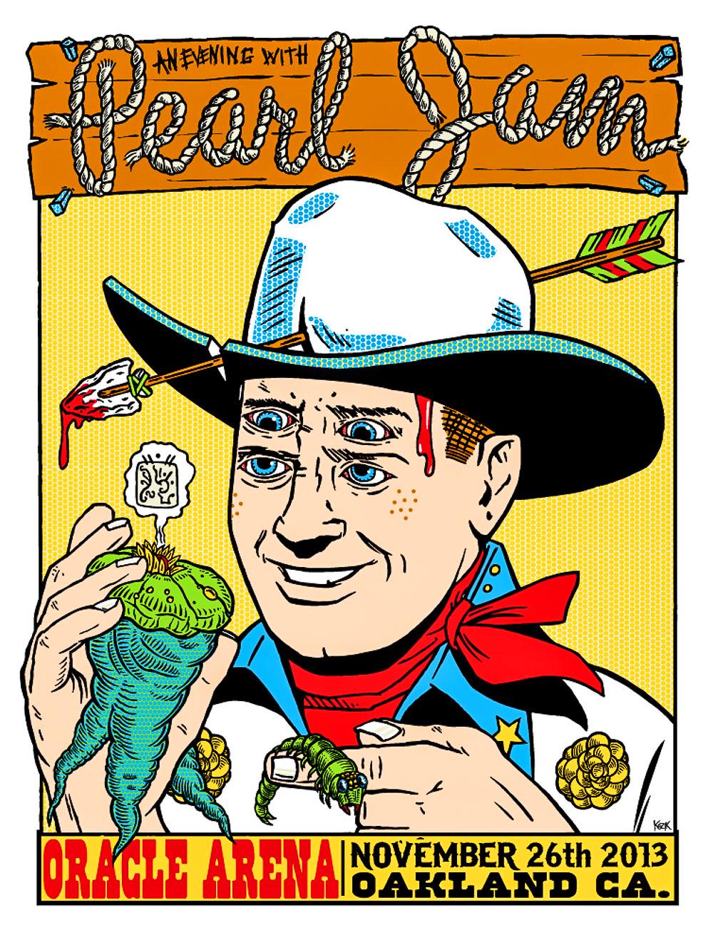 "I Hesitate to Call it Art"": Rock Poster Legend Frank Kozik"