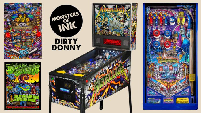 aa66f67585a57a That Dirty Donny Gillies sure designs a mean pinball machine