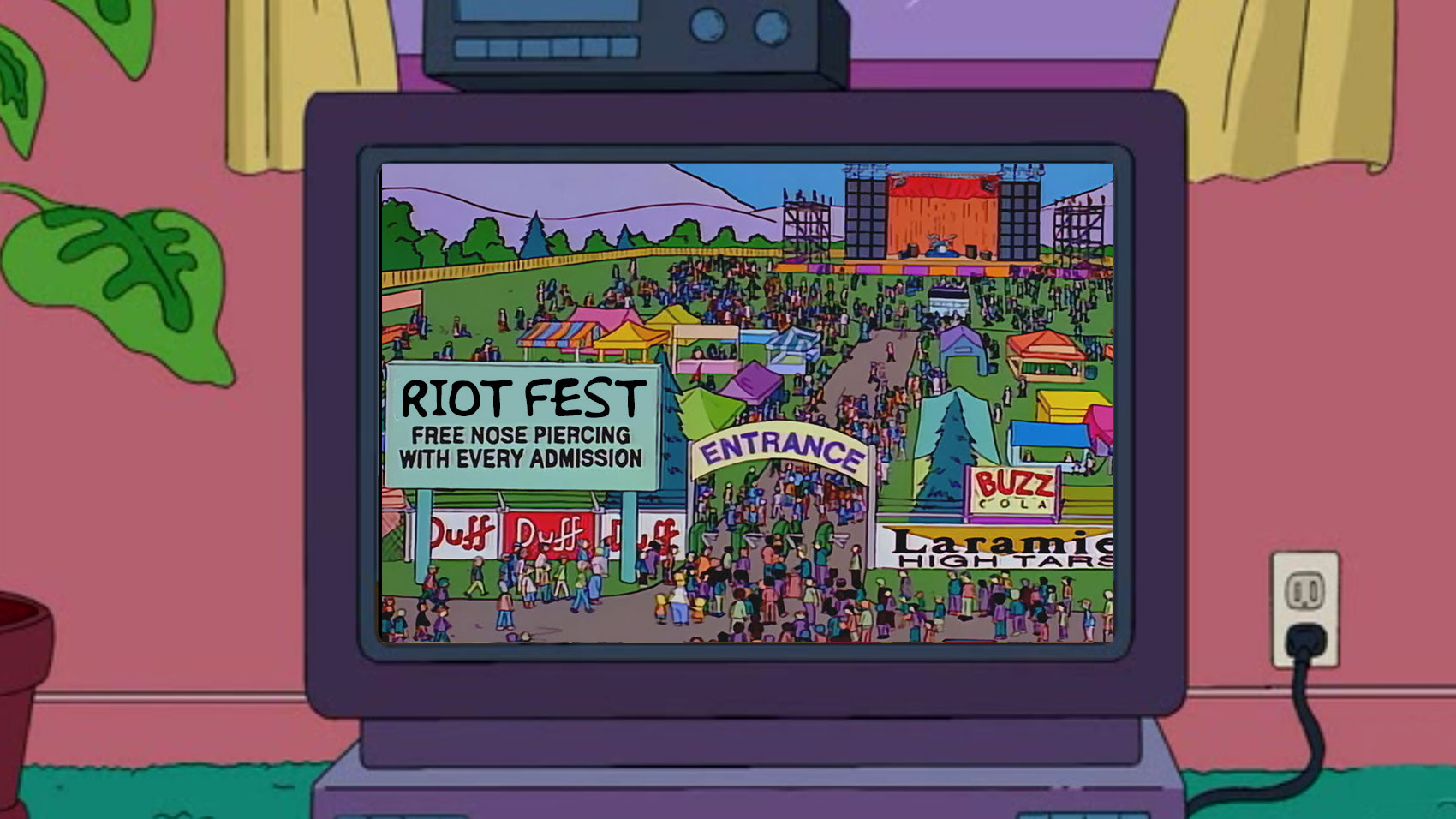 You May Remember These Riot Fest Artists From Such Simpsons Episodes As... - Riot Fest