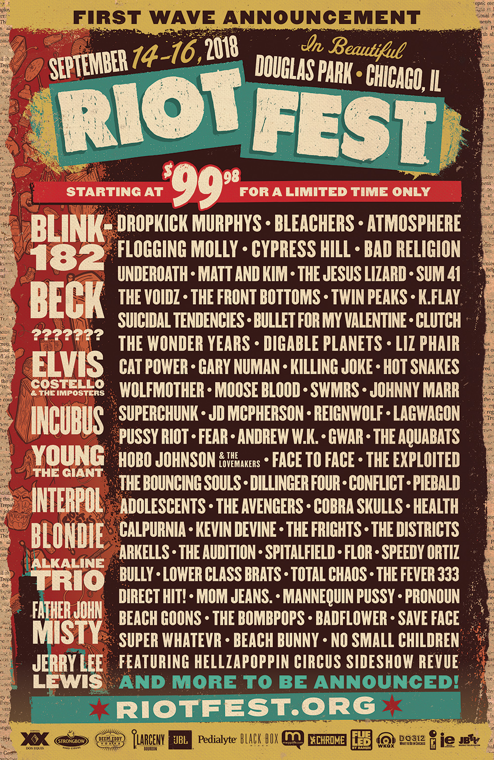 Warped Tour 2020 Bands.Warped Tour Already Planning Reunion At Riot Fest 2020