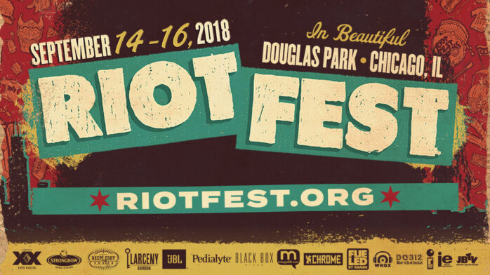 here s the full riot fest 2018 daily lineup single and two day