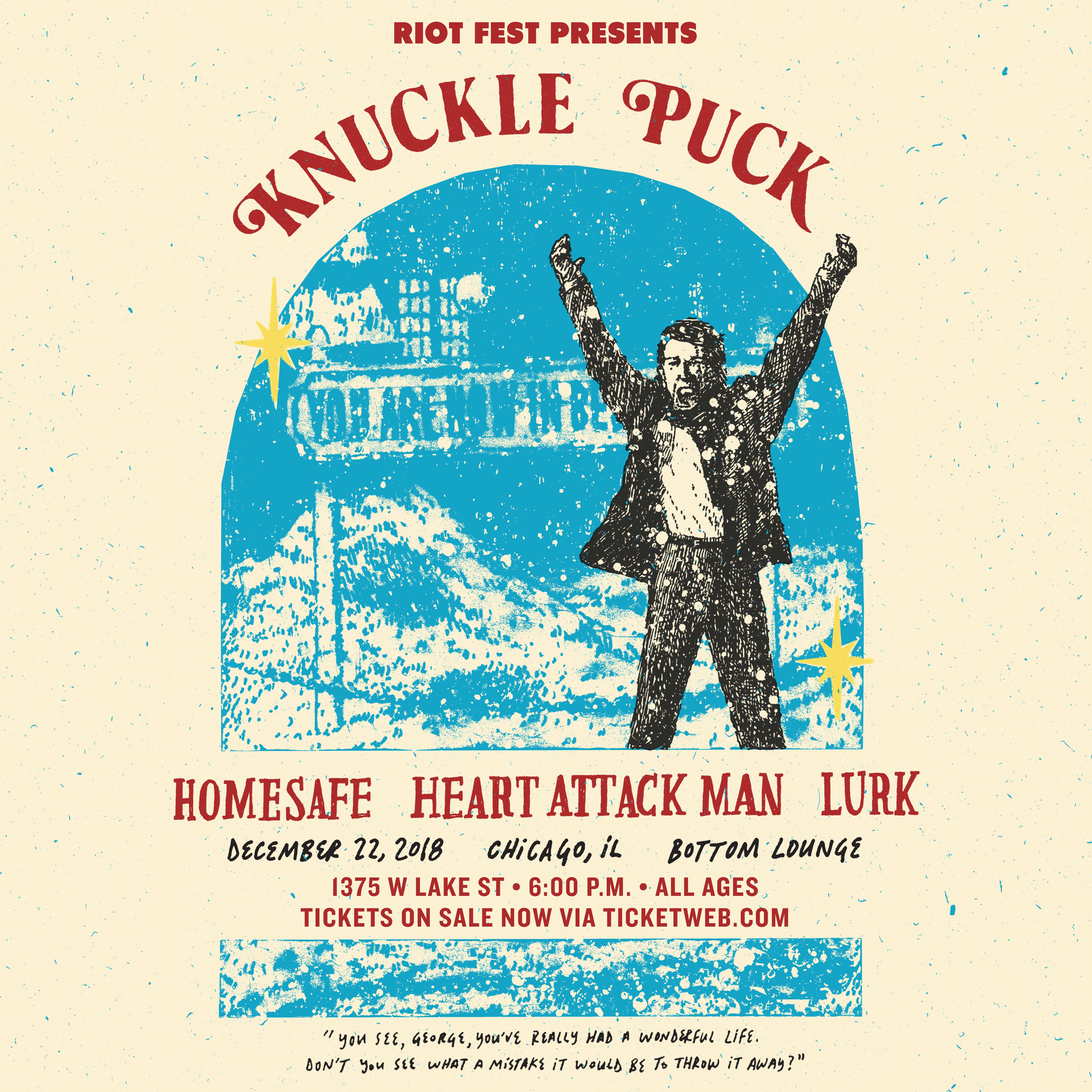 Knuckle Puck – SOLD OUT   Riot Fest