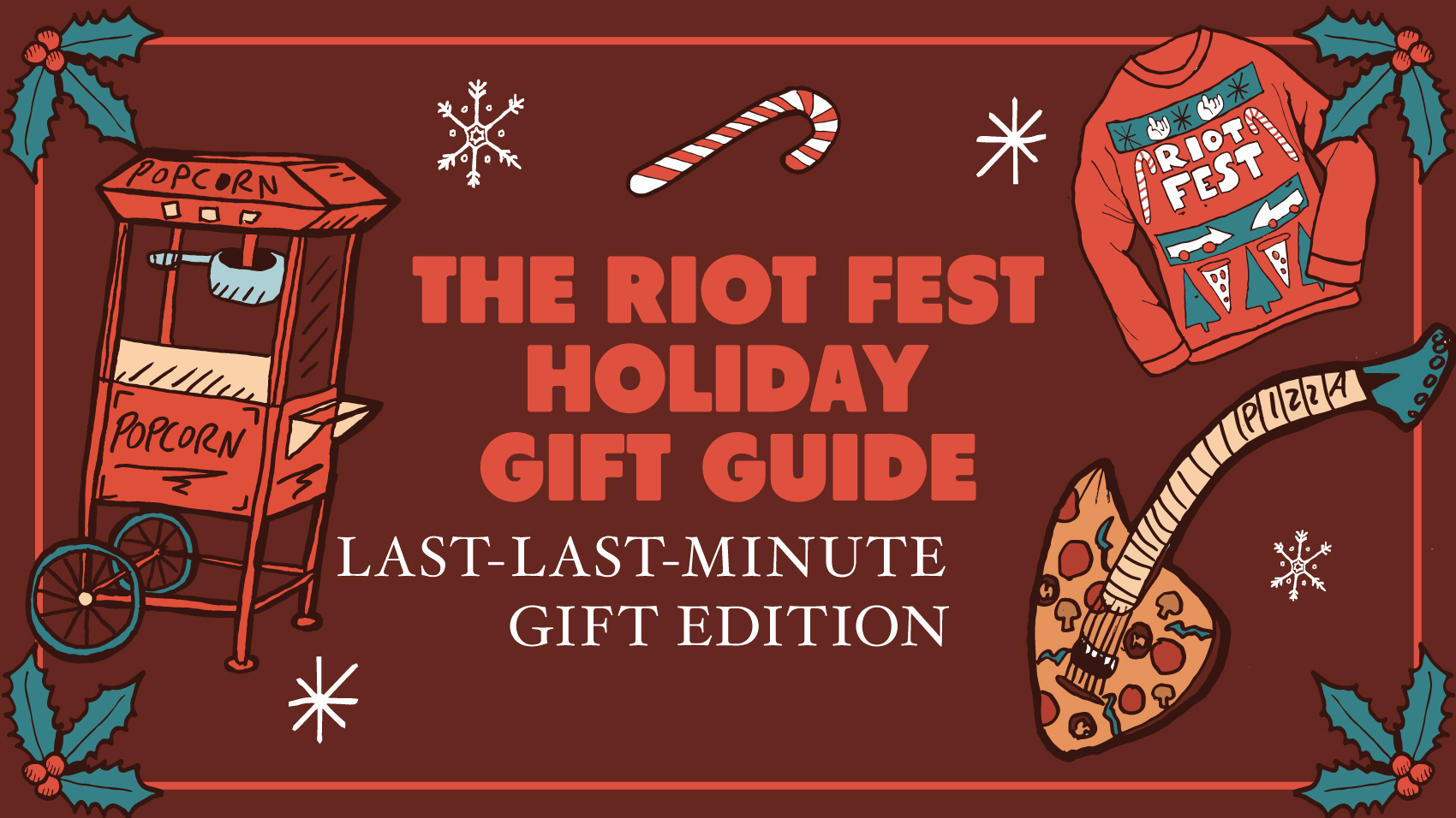 the riot fest last last minute holiday gift guide
