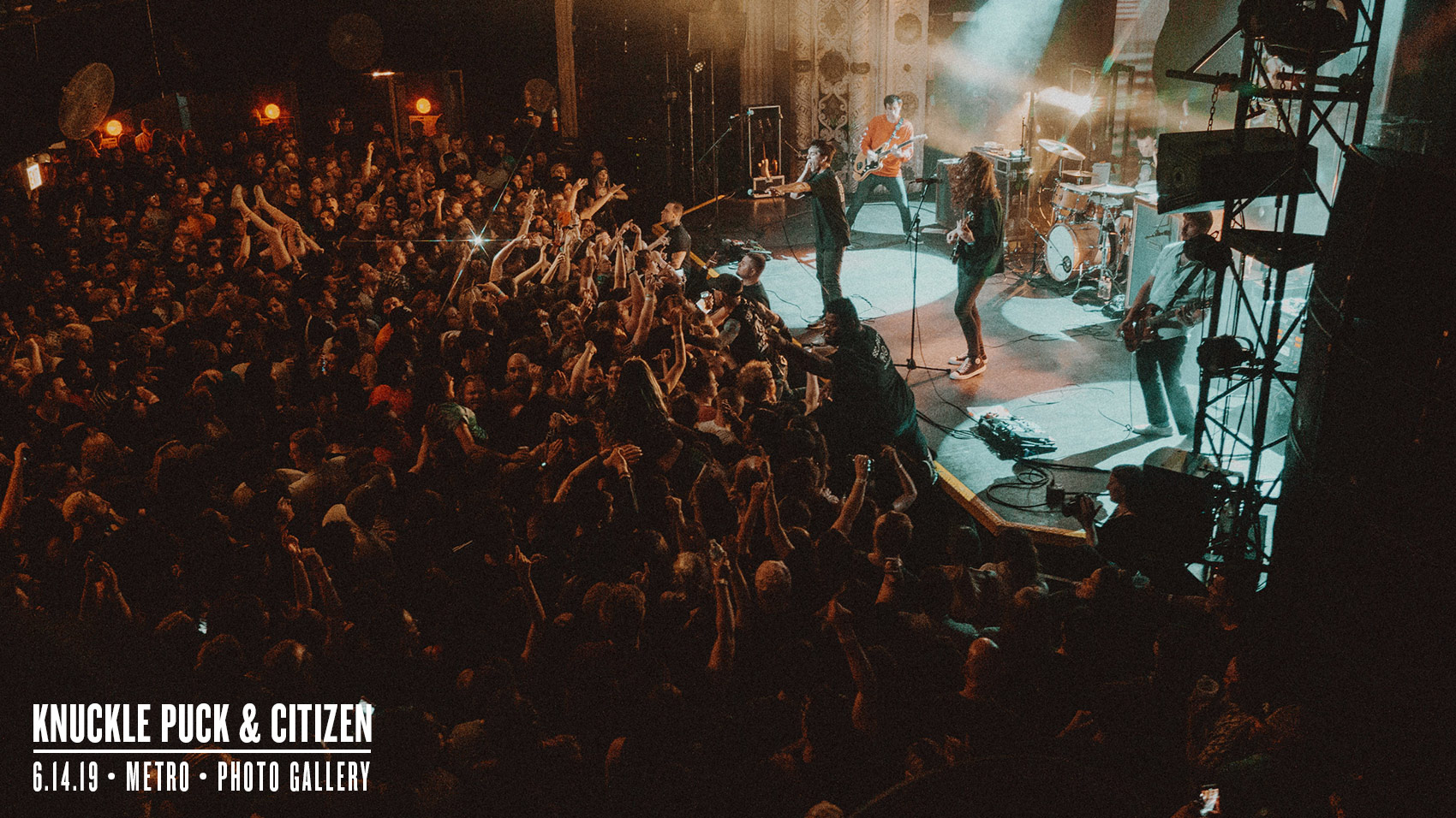 5d946bfe7 Photos: Knuckle Puck & Citizen at Metro — 6.14.19. By Riot Fest ...