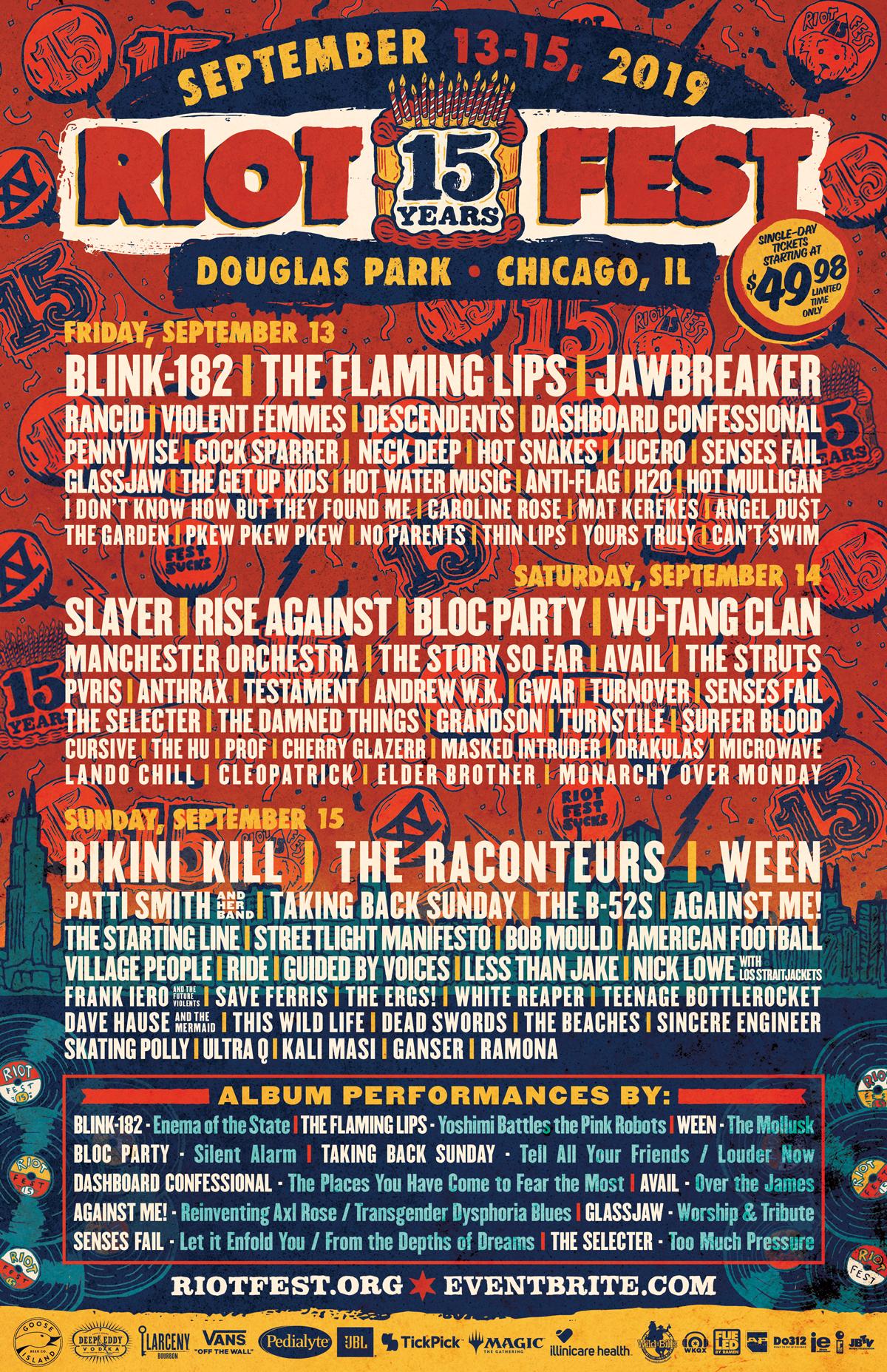 Riot Fest Tickets | Riot Fest